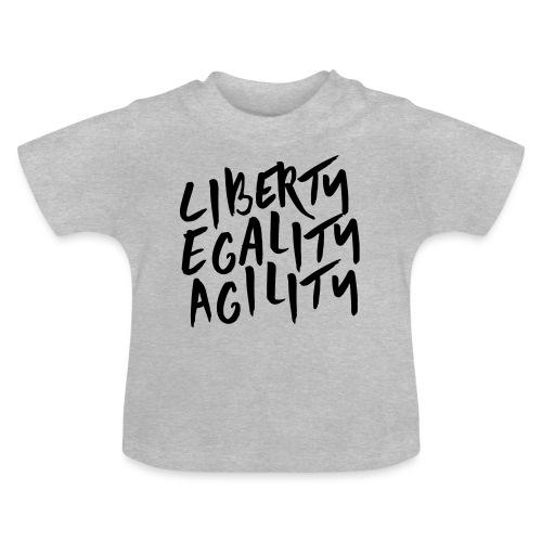 Liberty Egality Agility - Tote Bag - T-shirt Bébé