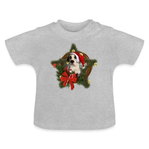 Christmas Dog - Maglietta per neonato