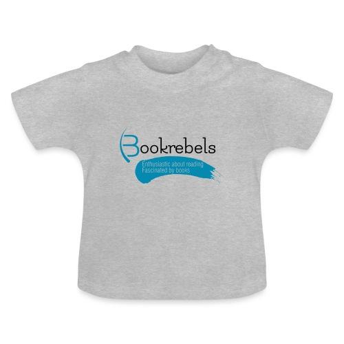 Bookrebels Enthusiastic - Black - Baby T-Shirt