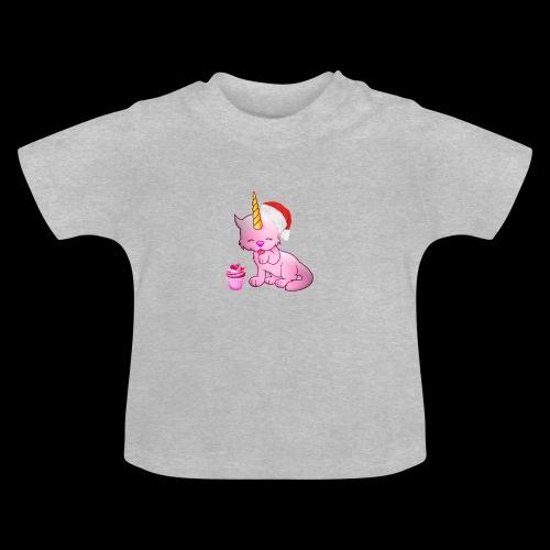 Licorne père noël - T-shirt Bébé