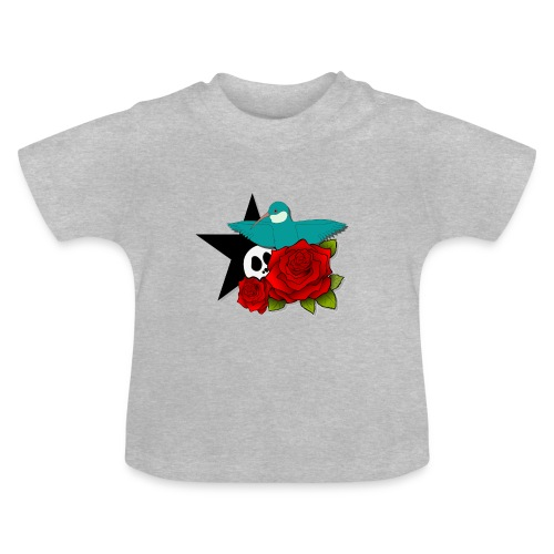 birdnroses - T-shirt Bébé