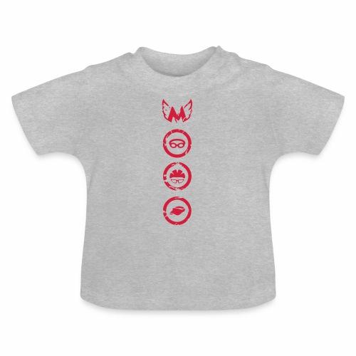 Mosso_run_swim_cycle - Maglietta per neonato