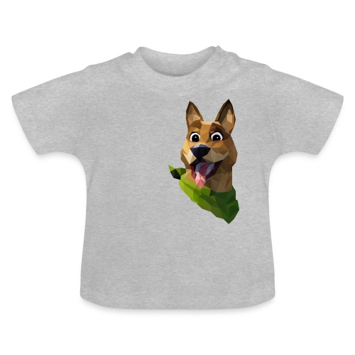 LOW POLY DOGO - T-shirt Bébé
