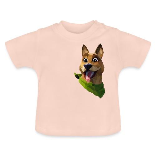 LOW POLY DOGO - T-shirt Bébé