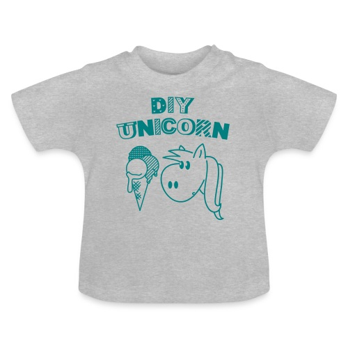 DIY Unicorn Einhorn - Baby T-Shirt