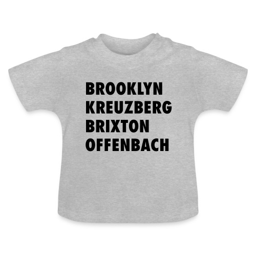 OFf the trotten paths. - Baby T-Shirt