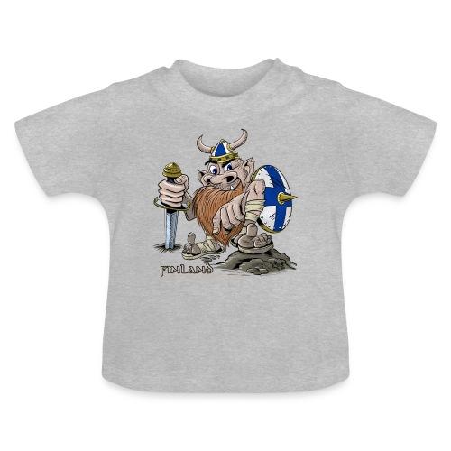FINLAND VIKING T-paidat, tekstiilit ja lahjaideat - Vauvan t-paita