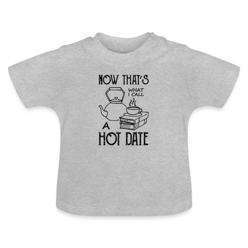 0211 Date | Bücher | Tee | Zeit | Leser | Kaffee - Baby T-Shirt