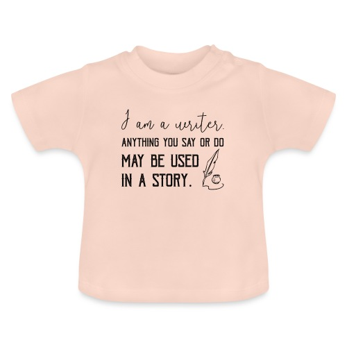 0266 writer | Author | Book | history - Baby T-Shirt