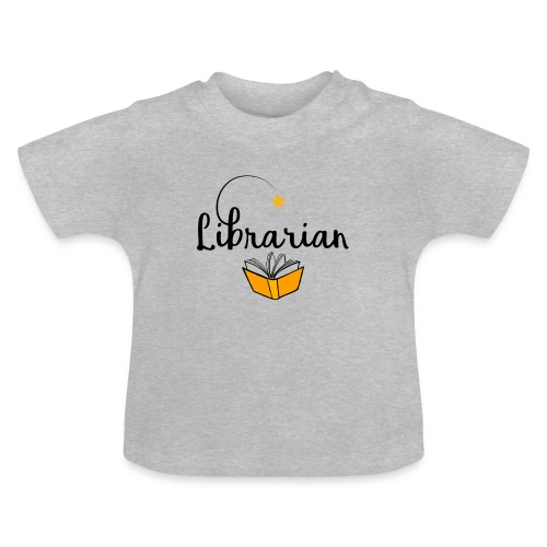 0326 Librarian & Librarian - Baby T-Shirt