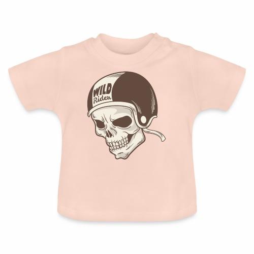 Helmet Skull Wild Rider - Baby T-Shirt