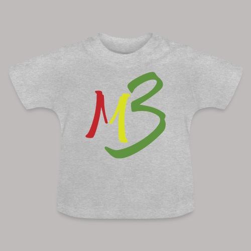 MB13 Logo rasta1 - Baby T-Shirt