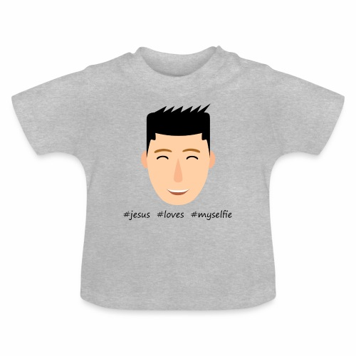 jesus loves myselfie - Baby T-Shirt
