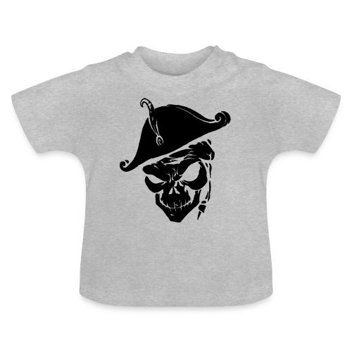 pirate skull - Baby T-shirt