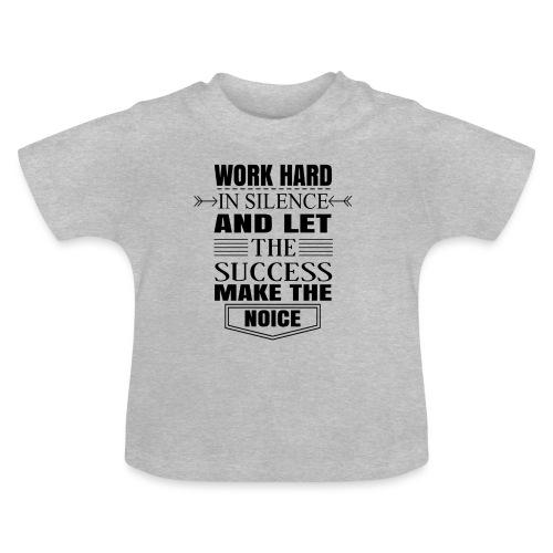 Work hard - Vauvan t-paita