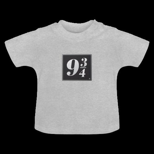 Andén nueve y tres cuartos - Camiseta bebé