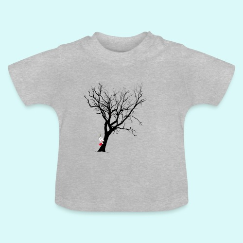 clown arbre - T-shirt Bébé