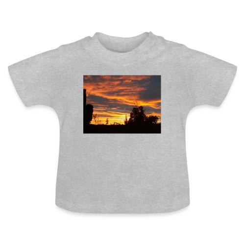 Tramonto rosso - Maglietta per neonato