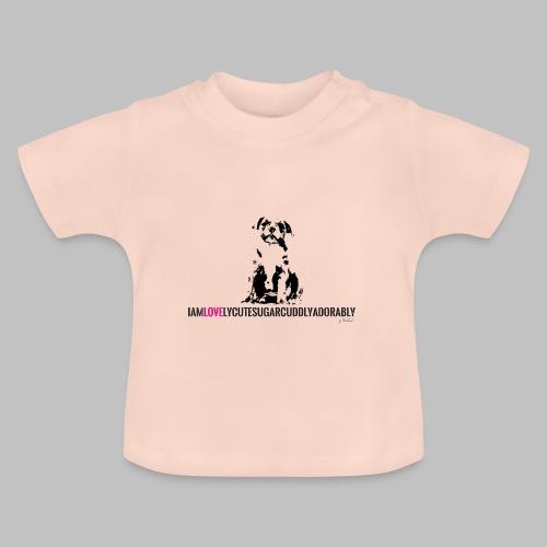 FRANZÖSISCHE BULLDOGE - WELPEN - LOVE - Baby T-Shirt