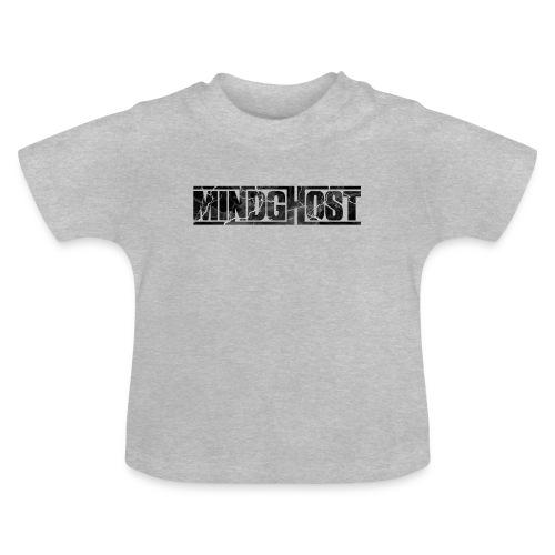 Mindghost Logo Black - Baby-T-shirt