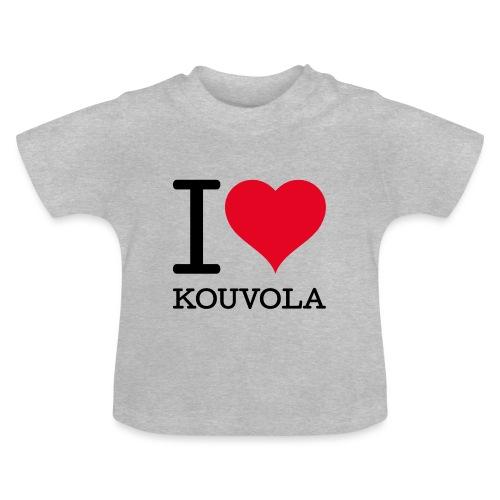 I love Kouvola - Vauvan t-paita