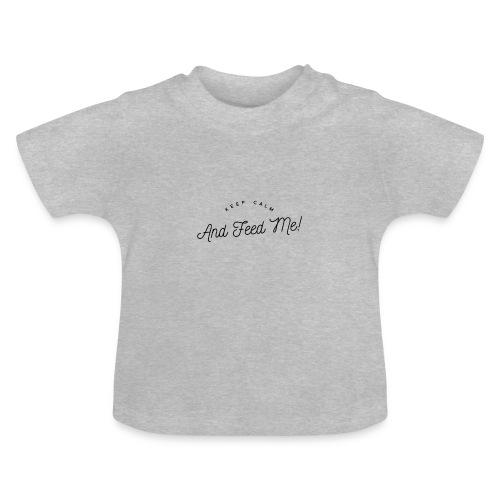 Baby Bekleidung mit lustigem Spruch, Geschenkidee - Baby T-Shirt