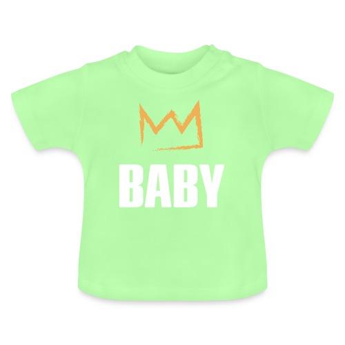 Baby mit Krone - Baby T-Shirt