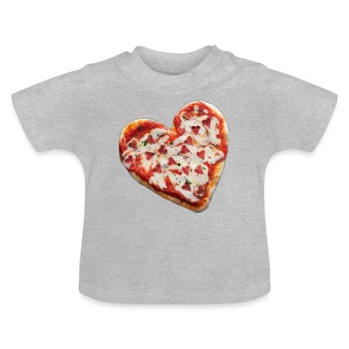 Pizza a cuore - Maglietta per neonato