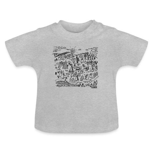winters bos - T-shirt Bébé