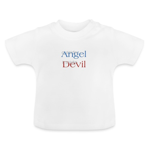 Angelo o Diavolo? - Maglietta per neonato