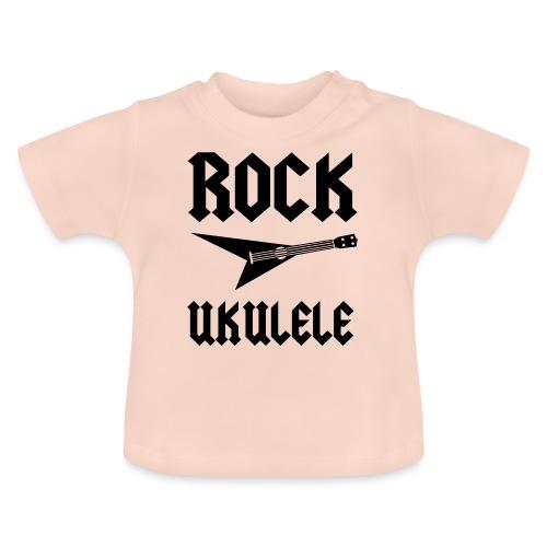 Rock Ukulele T-Shirt - Baby T-Shirt