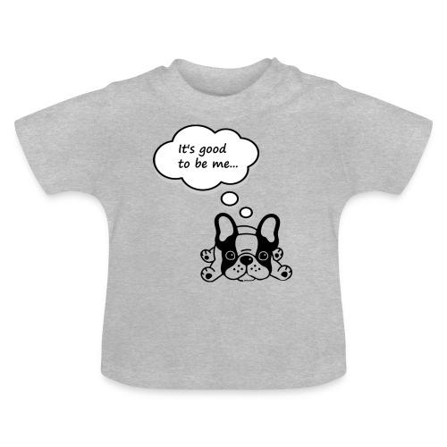 Babyb Buldog francuski - Koszulka niemowlęca
