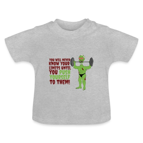 Push yourself - Baby T-Shirt