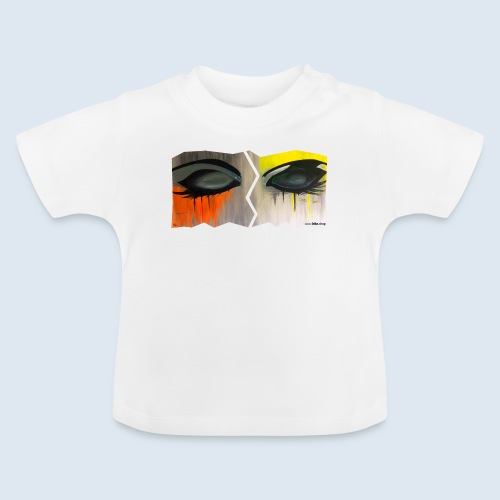 """Augenblick """"closed eyes"""" made in Berlin - Baby T-Shirt"""
