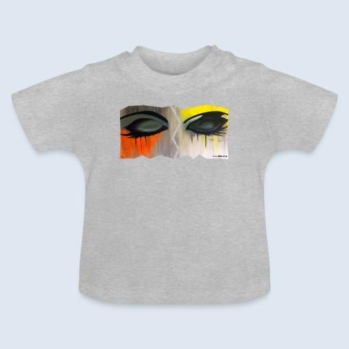 Closed Eyes Berlin PopArt ickeshop BachBilder - Baby T-Shirt