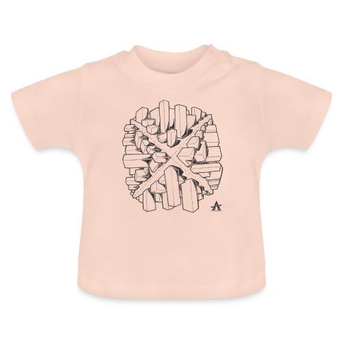 croix en perspective - T-shirt Bébé