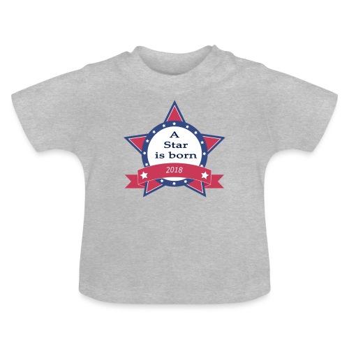 a star is born - T-shirt Bébé