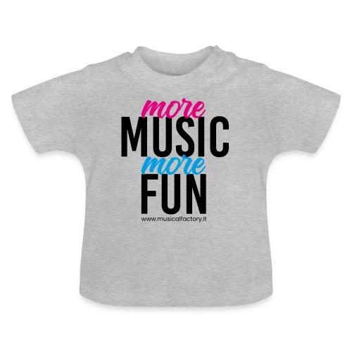 More Music More Fun - Maglietta per neonato