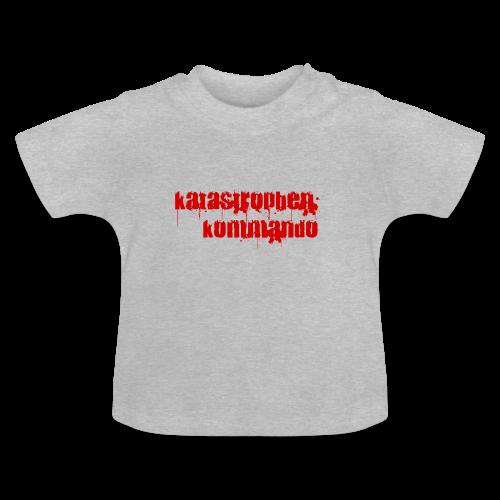 KK Logo rot - Baby T-Shirt