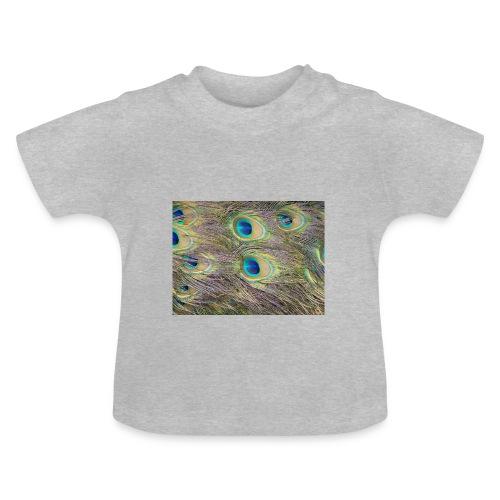 Peacock feathers - Vauvan t-paita