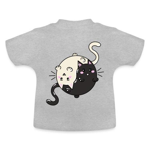 Cats Tai and chi - T-shirt Bébé