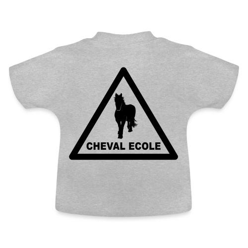 chevalecoletshirt - T-shirt Bébé