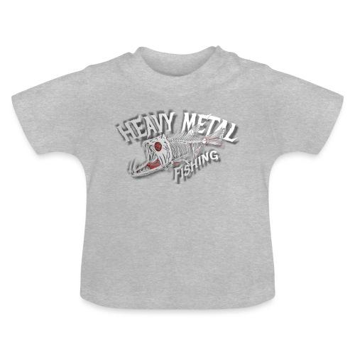 heavy metal fishing white - Baby T-Shirt