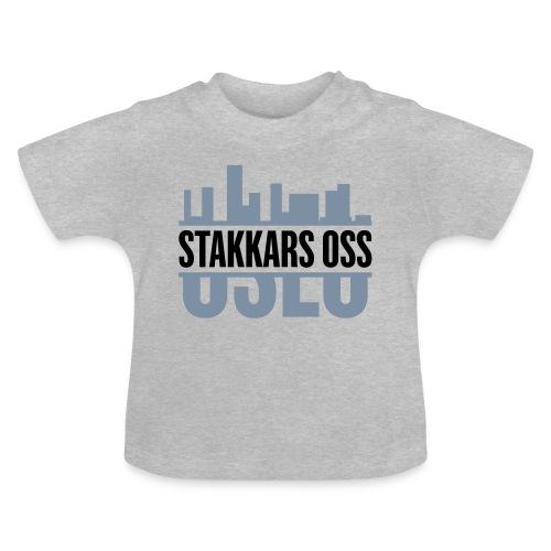 stakkars oss logo 2 ny - Baby-T-skjorte