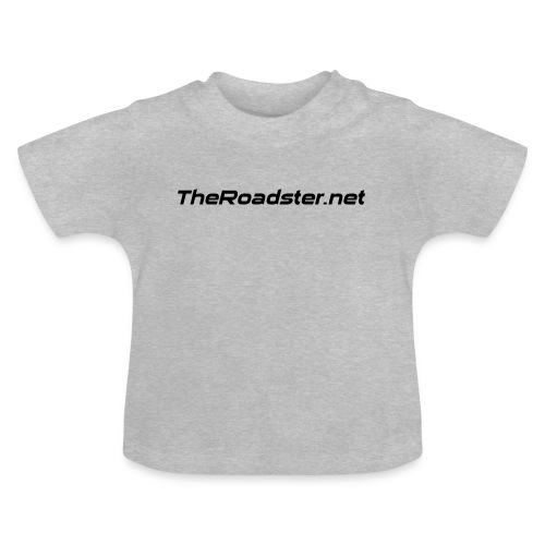 TheRoadster net Logo Text Only All Cols - Baby T-Shirt