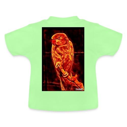 Bird in flames - Vauvan t-paita