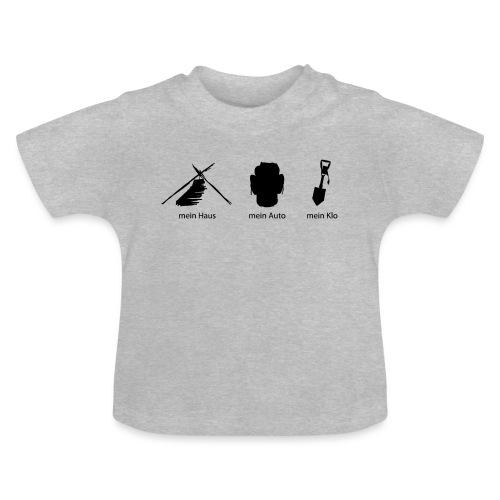 Haus Auto Klo - Baby T-Shirt