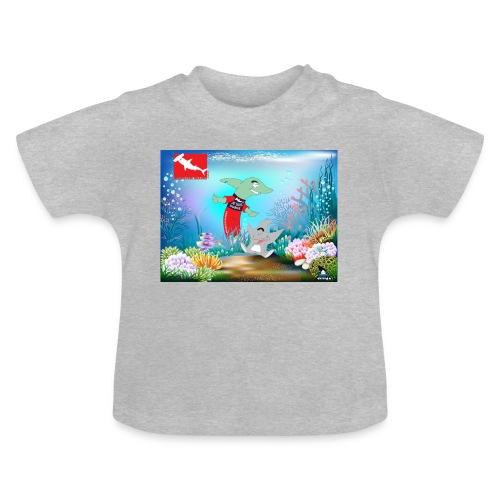 jesuis sharkie jpg - Camiseta bebé