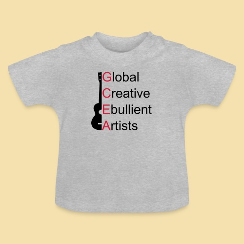 GCEA Global Creative Ebullient Artists - Baby T-Shirt