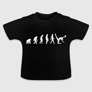Die Evolution der Gymnastik - Baby T-Shirt